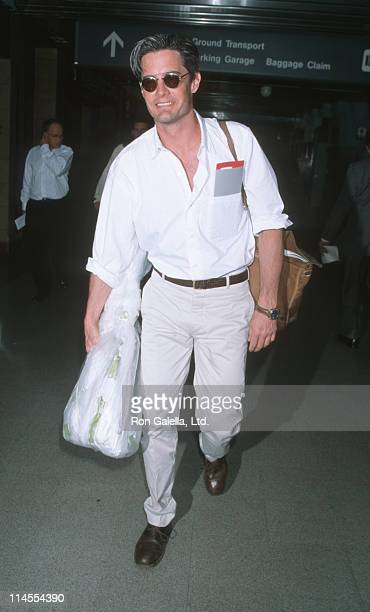 Kyle MacLachlan during Kyle MacLachlan Sighting at Los Angeles International Airport May 9 1998 at Los Angeles International Airport in Los Angeles...
