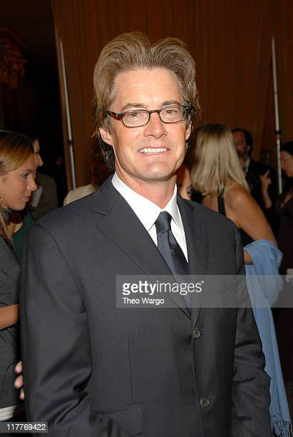 Kyle MacLachlan during The 2006 Women's World Awards Inside Arrivals at The Hammerstein Ballroom in New York City New York United States
