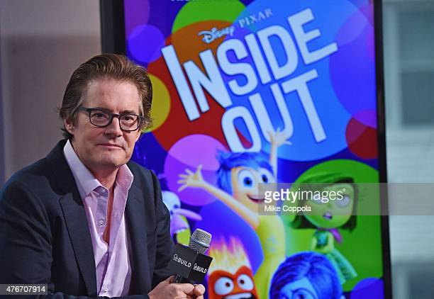 Kyle MacLachlan speaks at the AOL BUILD Speaker Series Kyle Maclachlan Discusses His New Film 'Inside Out' at AOL Studios In New York on June 11 2015...