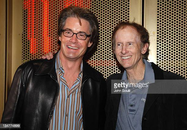 Kyle MacLachlan with Robby Krieger guitarist of The Doors in celebration of the December 12 DVD release of 'The Doors 15th Anniversary Edition'