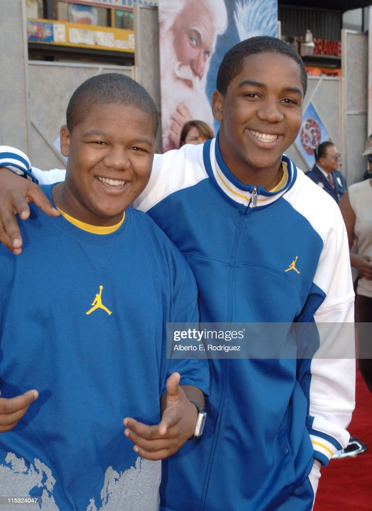 Kyle Massey and Christopher Massey during 'The Santa Clause 3 The Escape Clause' Los Angeles Premiere Red Carpet at El Capitan in Hollywood...
