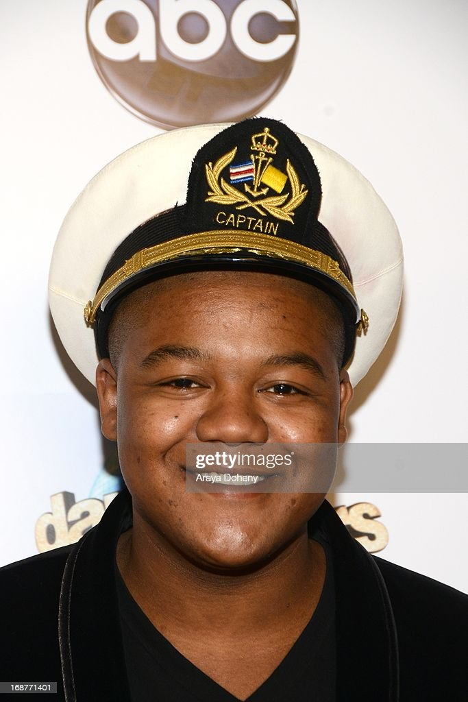 <a gi-track='captionPersonalityLinkClicked' href=/galleries/search?phrase=Kyle+Massey+-+Actor+-+Born+1991&family=editorial&specificpeople=540280 ng-click='$event.stopPropagation()'>Kyle Massey</a> arrives at the 'Dancing With The Stars' 300th episode red carpet event on May 14, 2013 in Los Angeles, California.
