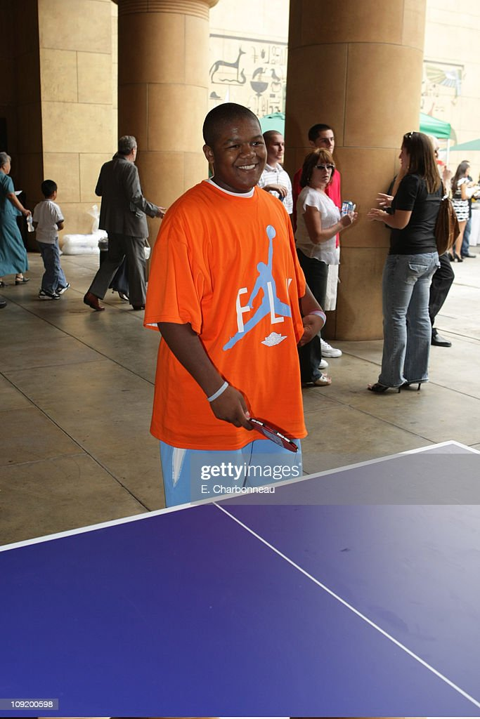 Kyle Massey at the Los Angeles Premiere of 'Balls of Fury' at the Egyptian Theatre on August 25 2007 in Hollywood California