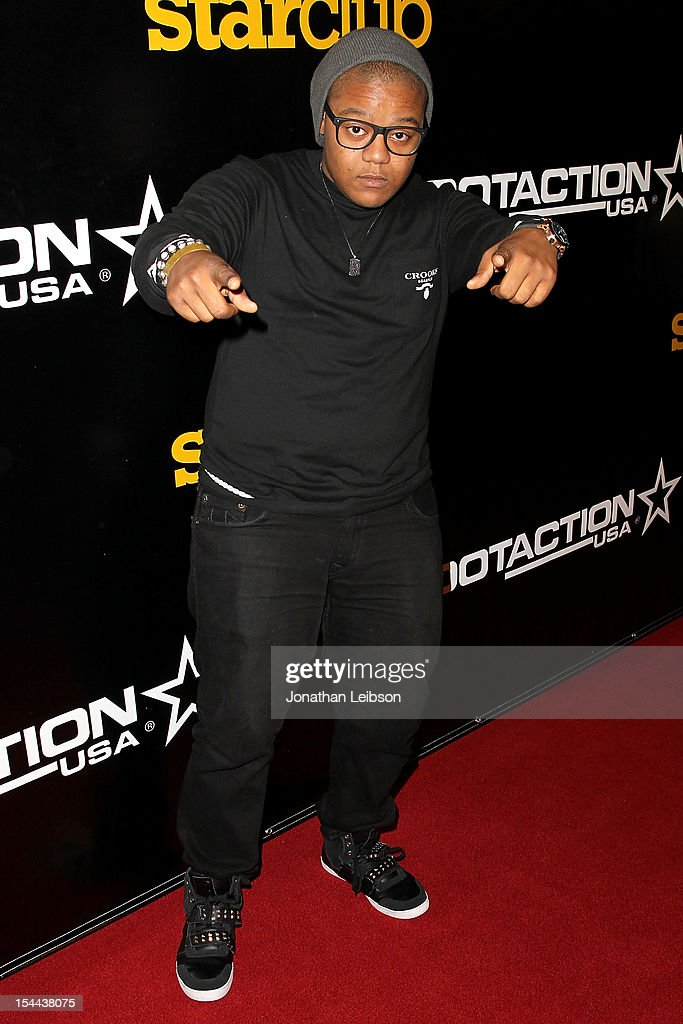 <a gi-track='captionPersonalityLinkClicked' href=/galleries/search?phrase=Kyle+Massey+-+Actor+-+Born+1991&family=editorial&specificpeople=540280 ng-click='$event.stopPropagation()'>Kyle Massey</a> attends the J. Cole Performs at Footaction's 'Own The Stage' Celebration at W Hollywood on October 19, 2012 in Hollywood, California.
