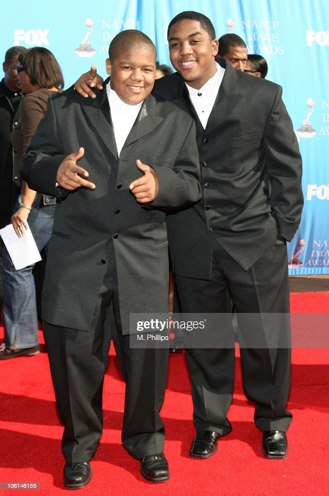 Kyle Massey during 38th Annual NAACP Image Awards Arrivals at Shrine Auditorium in Los Angeles California United States