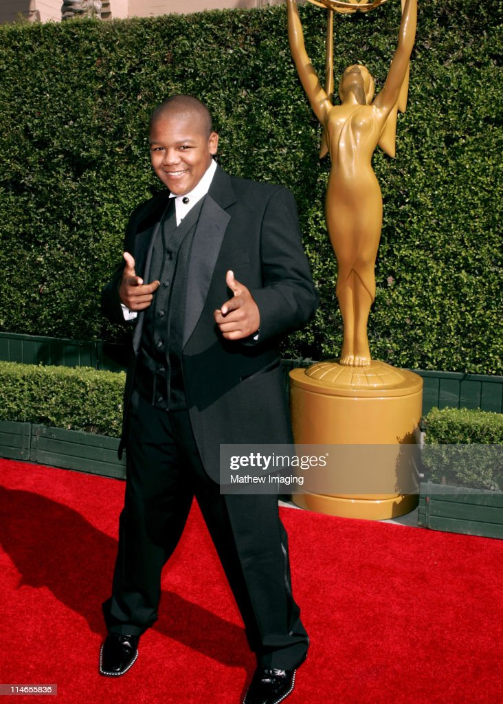 Kyle Massey during 57th Annual Primetime Creative Arts EMMY Awards Arrivals Red Carpet at Shrine Auditorium in Los Angeles California United States