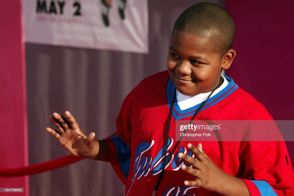 Kyle Massey during The Lizzy McGuire Movie Premiere at El Capitan Theater in Hollywood California United States