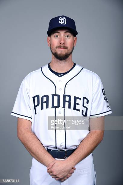 Kyle McGrath of the San Diego Padres poses during Photo Day on Sunday February 19 2017 at Peoria Stadium in Peoria Arizona