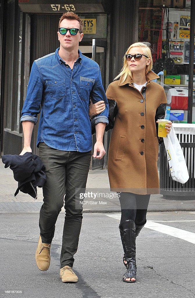Kyle Newman and <a gi-track='captionPersonalityLinkClicked' href=/galleries/search?phrase=Jaime+King+-+Actress&family=editorial&specificpeople=206809 ng-click='$event.stopPropagation()'>Jaime King</a> as seen on May 6, 2013 in New York City.