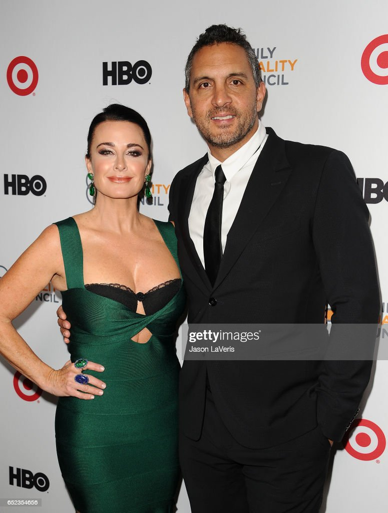 Kyle Richards and Mauricio Umansky attend Family Equality Council's annual Impact Awards at the Beverly Wilshire Four Seasons Hotel on March 11, 2017 in Beverly Hills, California.