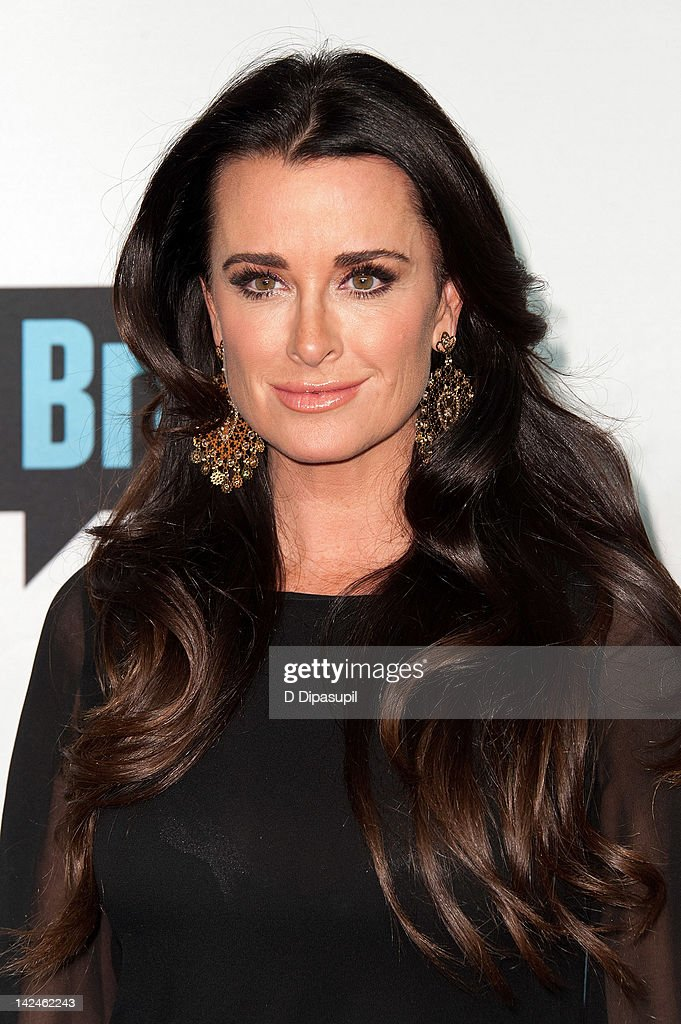 Kyle Richards attends Bravo Upfront 2012 at Center 548 on April 4, 2012 in New York City.