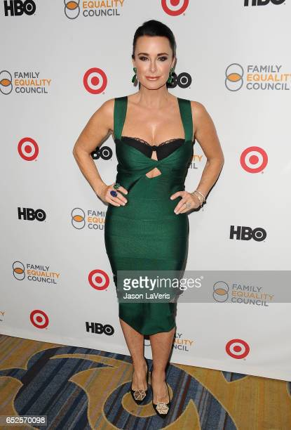 Kyle Richards attends Family Equality Council's annual Impact Awards at the Beverly Wilshire Four Seasons Hotel on March 11 2017 in Beverly Hills...