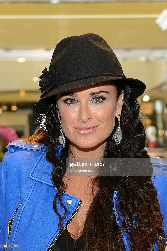 Kyle Richards attends Fashion's Night Out at Kyle by Alene Too on September 6, 2012 in Beverly Hills, California.