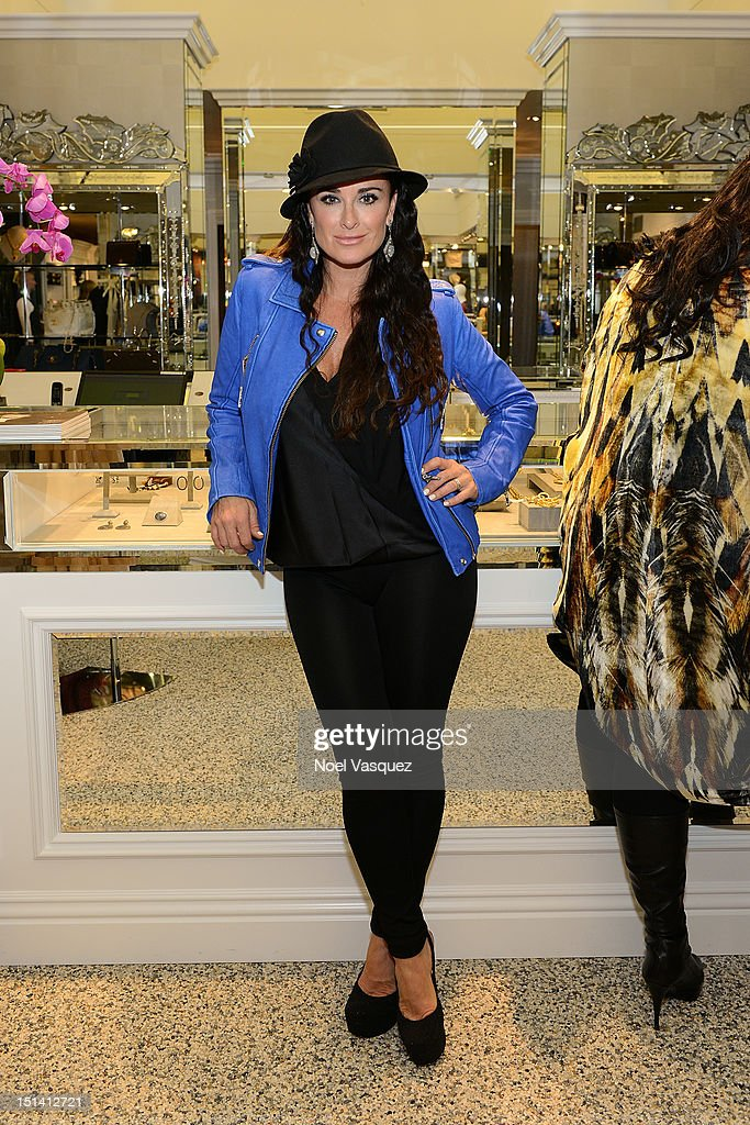 <a gi-track='captionPersonalityLinkClicked' href=/galleries/search?phrase=Kyle+Richards&family=editorial&specificpeople=2586434 ng-click='$event.stopPropagation()'>Kyle Richards</a> attends Fashion's Night Out at Kyle by Alene Too on September 6, 2012 in Beverly Hills, California.