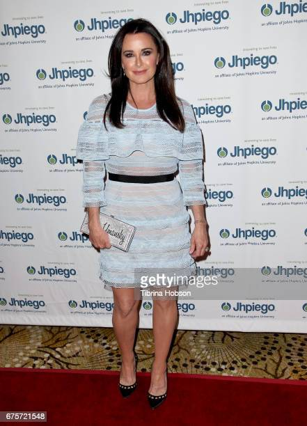 Kyle Richards attends Jhpiego's 'Laughter Is The Best Medicine' Gala at the Beverly Wilshire Four Seasons Hotel on May 1 2017 in Beverly Hills...