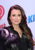 Kyle Richards attends KIIS FM's Jingle Ball at Staples Center on December 6 2013 in Los Angeles California