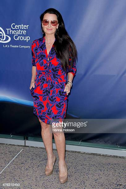 Kyle Richards attends 'Matilda The Musical' opening night at Ahmanson Theatre on June 7 2015 in Los Angeles California
