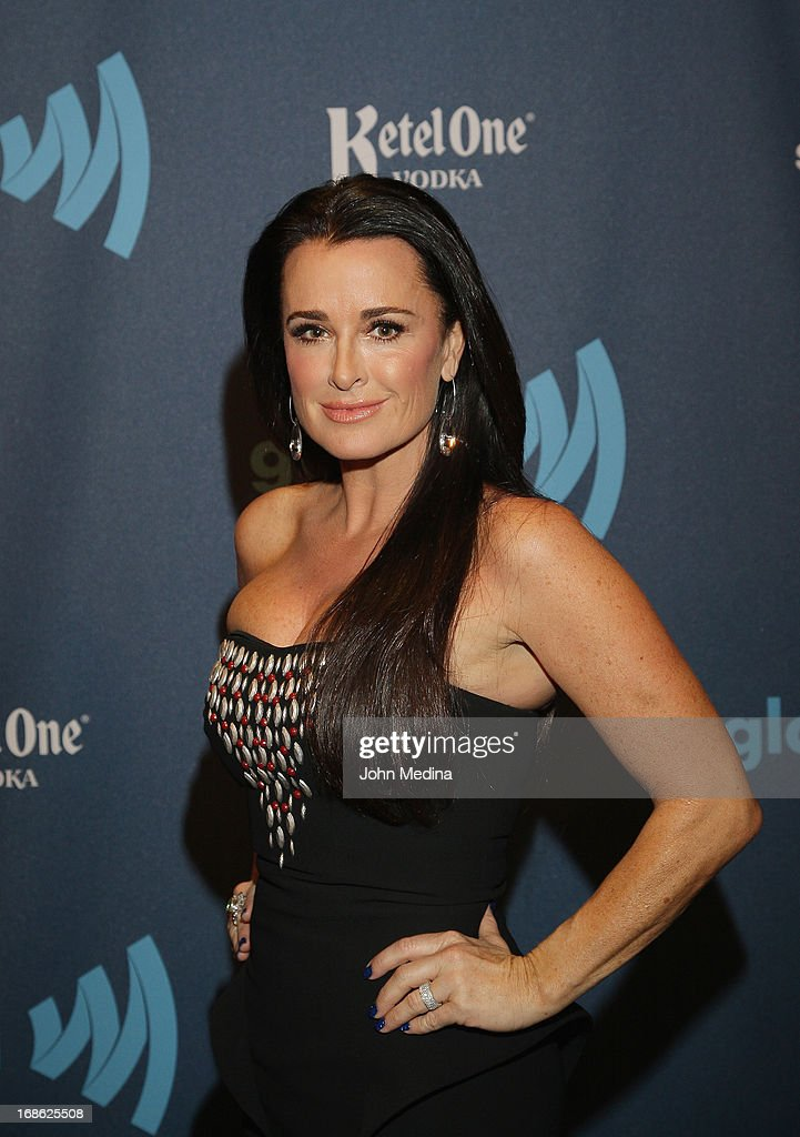 Kyle Richards attends the 24th Annual GLAAD Media Awards at the Hilton San Francisco - Union Squareon May 11, 2013 in San Francisco, California.