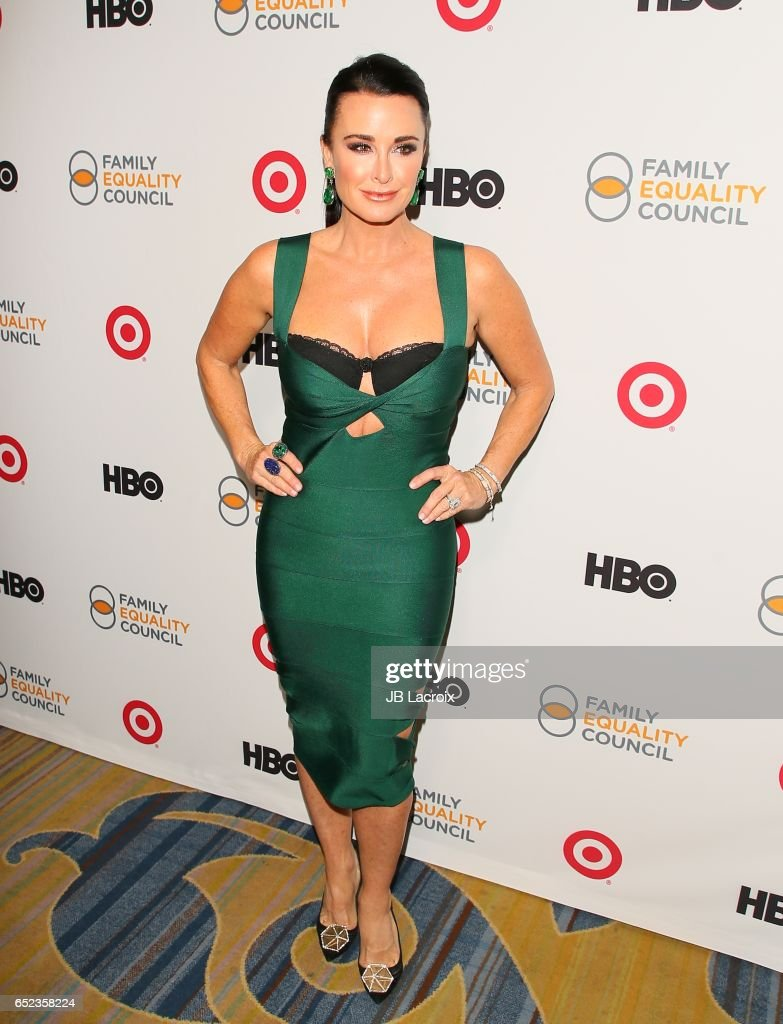 Kyle Richards attends the Family Equality Council's Annual Impact Awards on March 11, 2017 in Beverly Hills, California.
