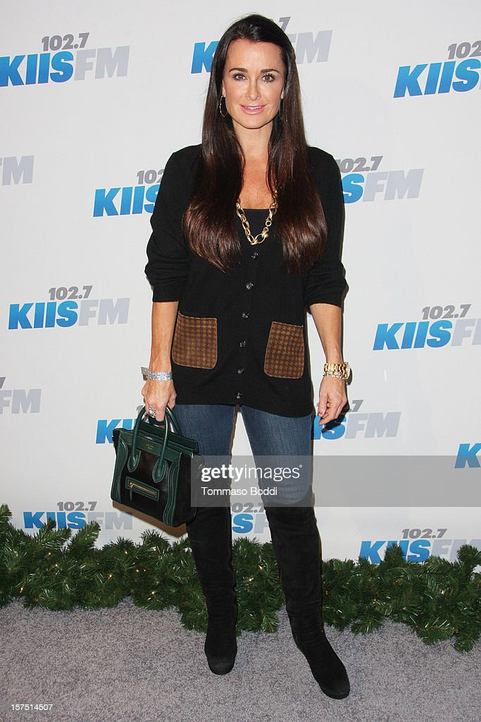 Kyle Richards attends the KIIS FM's Jingle Ball 2012 held at Nokia Theatre LA Live on December 3, 2012 in Los Angeles, California.