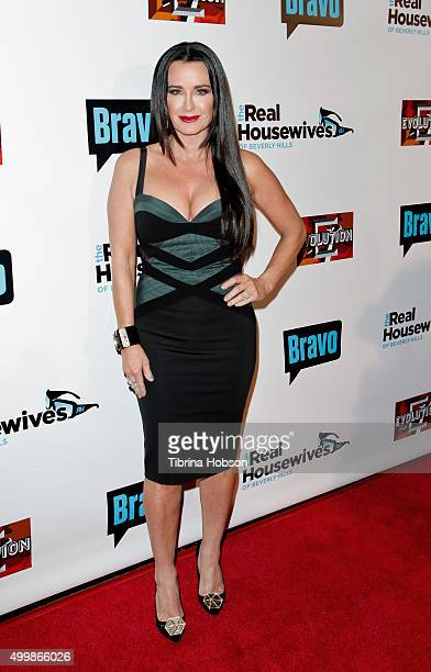 Kyle Richards attends the premiere party for Bravo's 'The Real Housewives Of Beverly Hills' season 6 at W Hollywood on December 3 2015 in Hollywood...