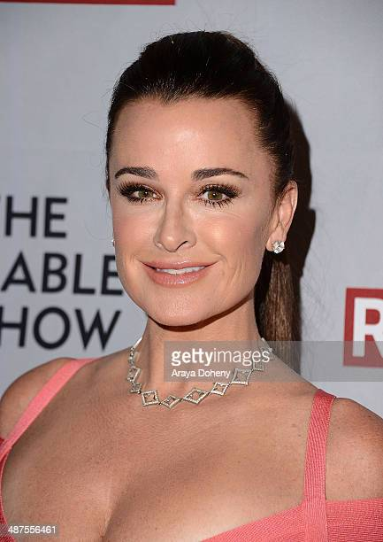 Kyle Richards attends the REVOLT NCTA Host VIP Gala For Talent Cable Execs at Belasco Theatre on April 30 2014 in Los Angeles California