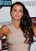 Kyle Richards attends the 'The Real Housewives of Beverly Hills' and 'Vanderpump Rules' premiere party at Boulevard3 on October 23 2013 in Hollywood...