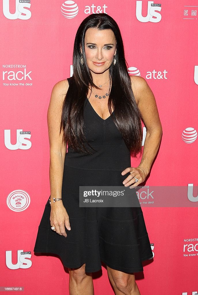 Kyle Richards attends the Us Weekly's Annual Hot Hollywood Style Issue Party at The Emerson Theatre on April 18, 2013 in Hollywood, California.