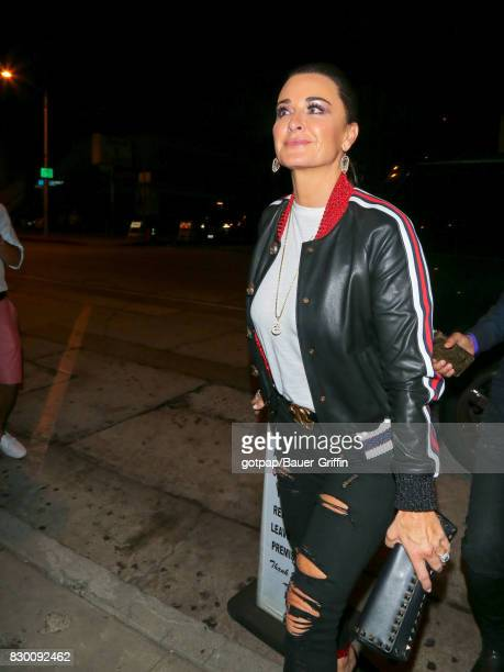 Kyle Richards is seen on August 10 2017 in Los Angeles California