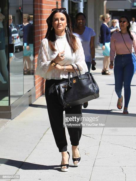 Kyle Richards is seen on May 19 2017 in Los Angeles CA
