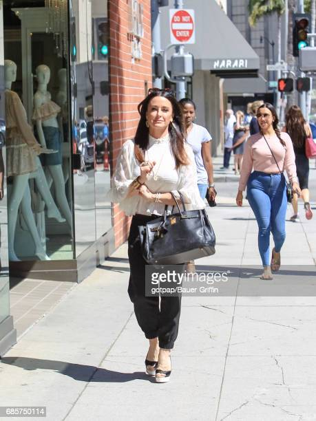 Kyle Richards is seen on May 19 2017 in Los Angeles California