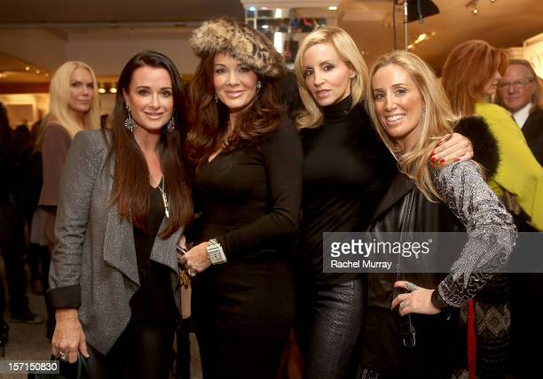 Kyle Richards Lisa VanderPump Camille Grammer and Debbie Weisman attend Kyle By Alene Too holiday shopping event featuring Bullets For Peace...