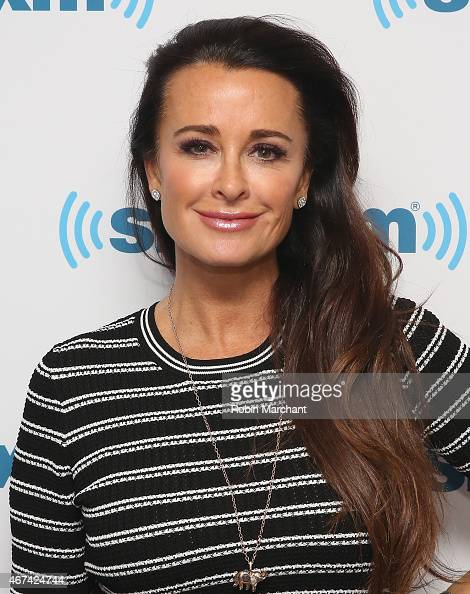 Kyle Richards visits at SiriusXM Studios on March 24 2015 in New York City