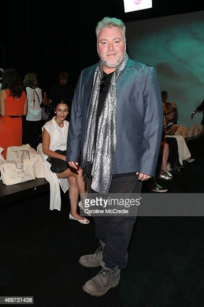 Kyle Sandilands attends the Bondi Bather show at MercedesBenz Fashion Week Australia 2015 at Carriageworks on April 15 2015 in Sydney Australia