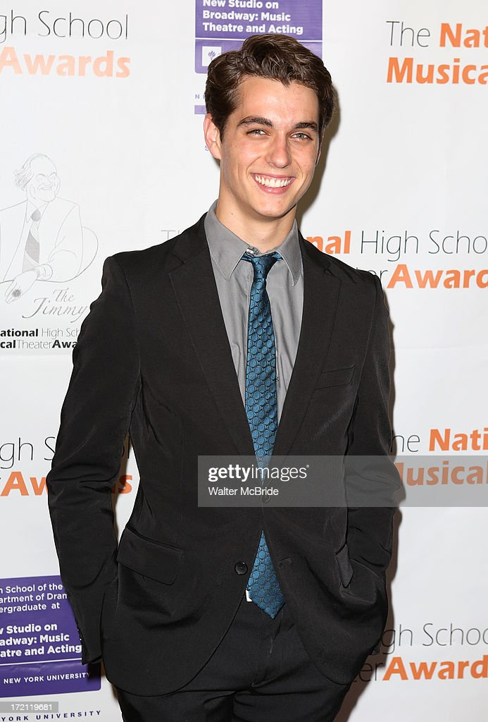 Kyle Selig attends the 5th Annual National High School Musical Theater Awards at Minskoff Theatre on July 1, 2013 in New York City.