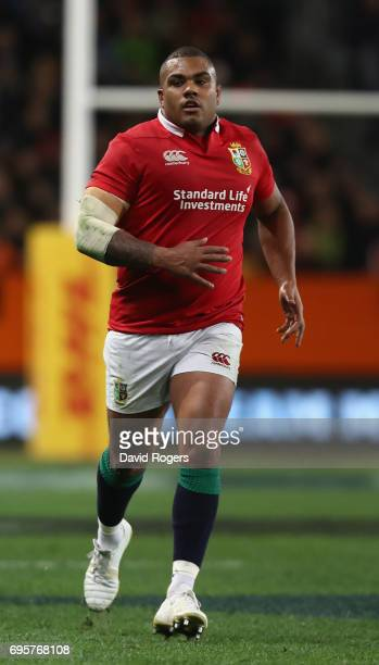 Kyle Sinckler of the Lions looks on during the 2017 British Irish Lions tour match between the Highlanders and the British Irish Lions at Forsyth...