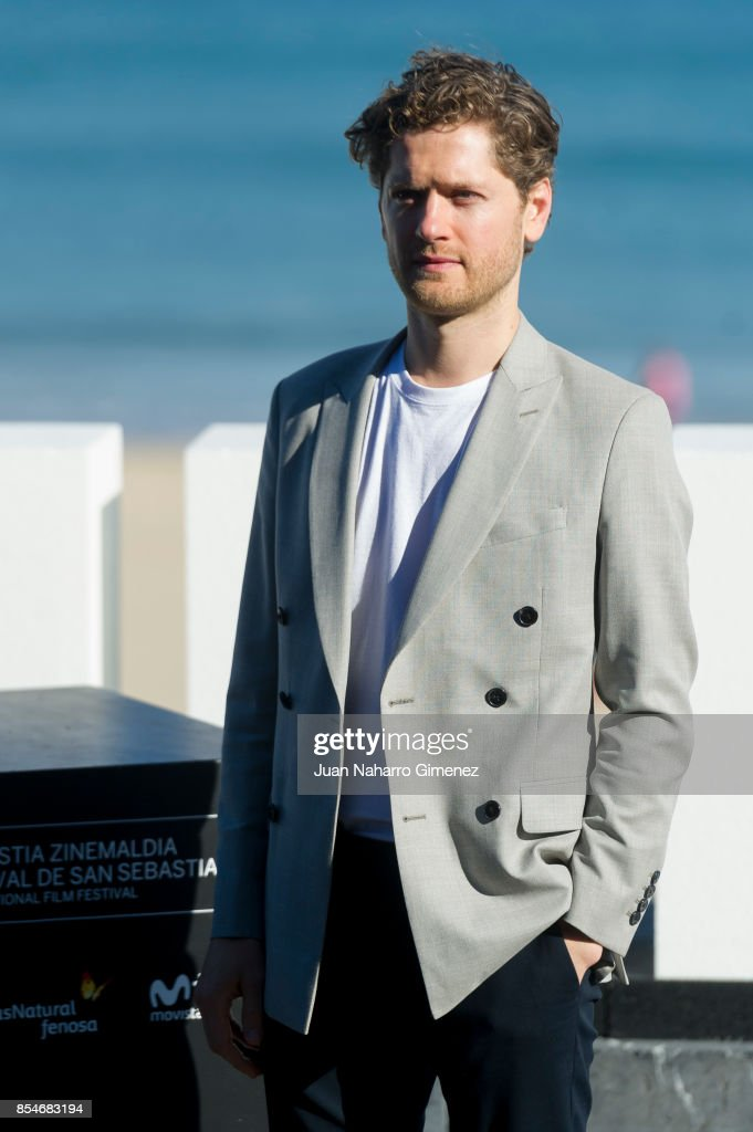 Kyle Soller attends 'Marrowbone' photocall during 65th San Sebastian Film Festival on September 27, 2017 in San Sebastian, Spain.