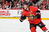 Kyle Turris of the Ottawa Senators skates in Game Six of the Eastern Conference Quarterfinals against the Montreal Canadiens during the 2015 NHL...