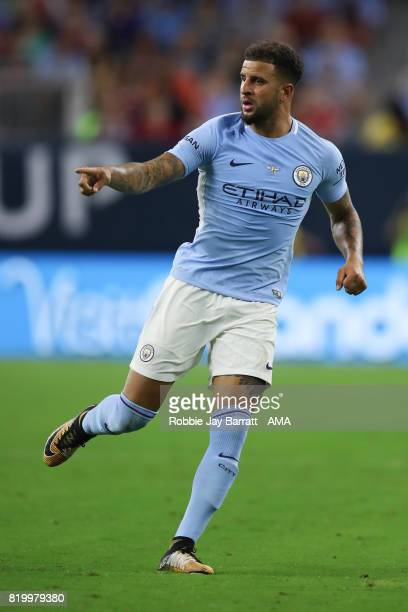 Kyle Walker of Manchester City during the International Champions Cup 2017 match between Manchester United and Manchester City at NRG Stadium on July...