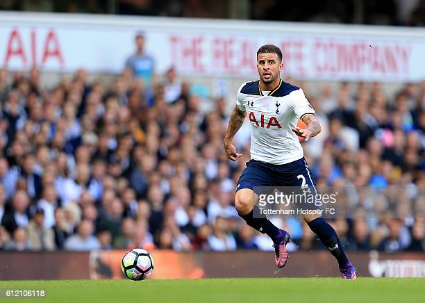 Kyle Walker of Tottenham Hotspur during the Premier League match between Tottenham Hotspur and Manchester City at White Hart Lane on October 2 2016...