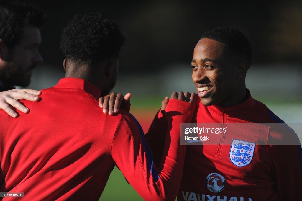 England U21's Training Session