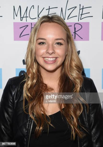 Kylee Renee Clark poses during a meet and greet on the 'Day NIght' tour at Mr Smalls on October 28 2017 in Millvale Pennsylvania