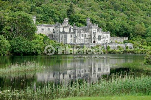 Kylemore Abbey Castle : Stock Photo
