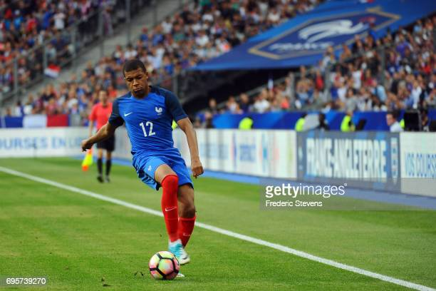 Kylian Mbappe forward of France Football team during the International friendly match between France and England held at Stade de France on Juin 13...