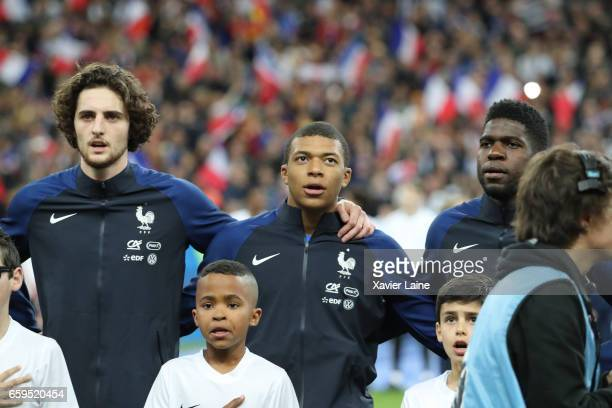 Kylian Mbappe of France during the Friendly game between France and Spain at Stade de France on march 28 2017 in Paris France