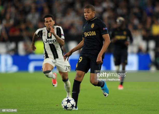 Kylian Mbappe of Monaco during the UEFA Champions League Semi Final second leg match between Juventus and AS Monaco at Juventus Stadium on May 9 2017...