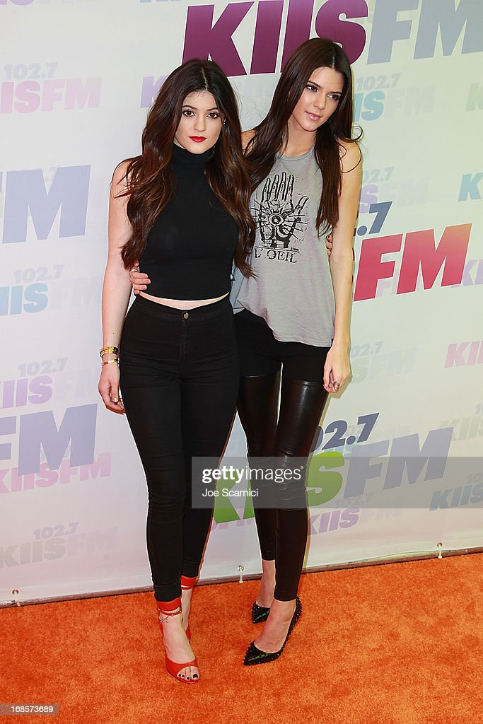 Kylie and Kendall Jenner arrive at 102.7 KIIS FM's Wango Tango 2013 at The Home Depot Center on May 11, 2013 in Carson, California.