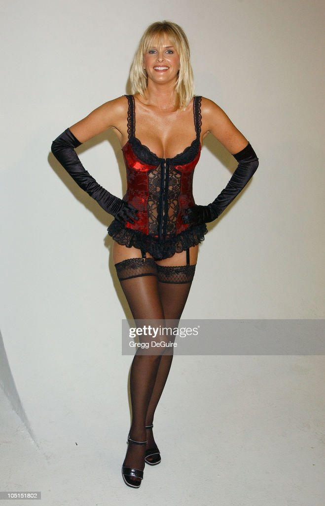 <a gi-track='captionPersonalityLinkClicked' href=/galleries/search?phrase=Kylie+Bax&family=editorial&specificpeople=214269 ng-click='$event.stopPropagation()'>Kylie Bax</a> during Unveiling for Lingerie Bowl 2004 at Quixote Studios in Hollywood, California, United States.