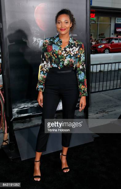 Kylie Bunbury attends the premiere of 'It' at TCL Chinese Theatre on September 5 2017 in Hollywood California