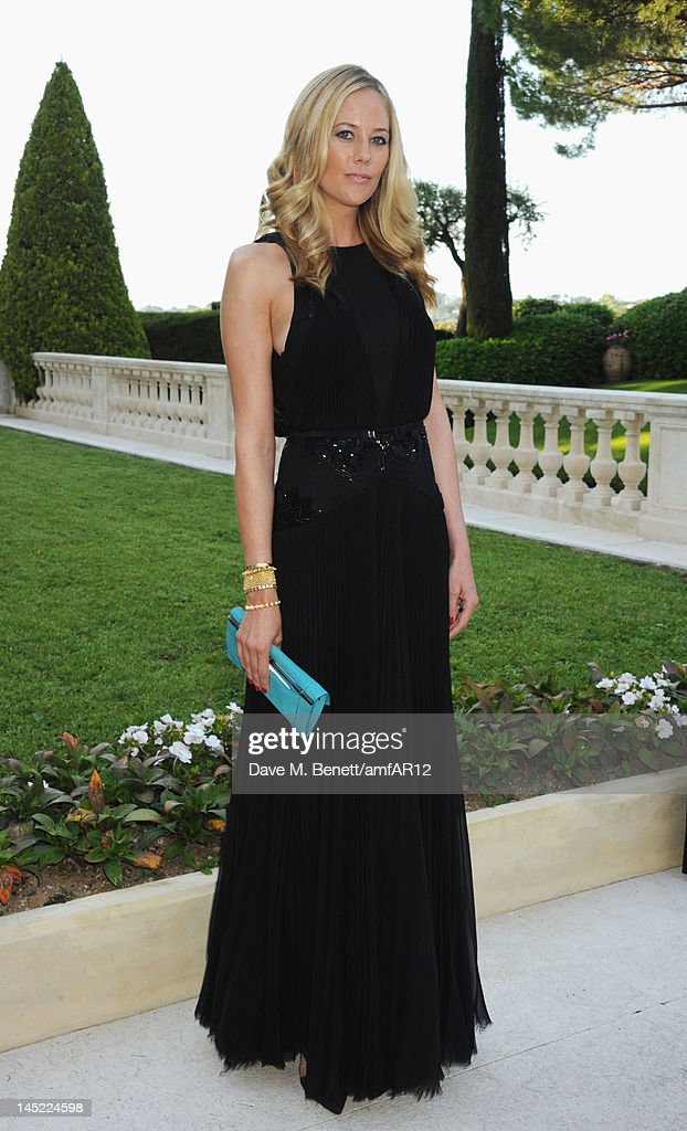 Kylie Case arrives at the 2012 amfAR's Cinema Against AIDS during the 65th Annual Cannes Film Festival at Hotel Du Cap on May 24, 2012 in Cap D'Antibes, France.